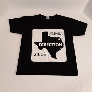 Child's S/S tee Joshua 24:15 size S